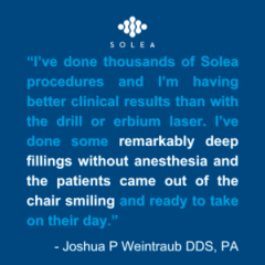 Reliably Anesthesia- and Blood-free Dentistry Delivers Better Outcomes